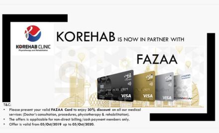 30% Discount on Fazaa Card